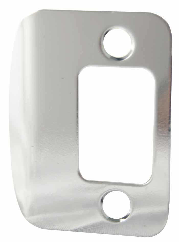 ... 85303 26D FULL LIP DEADBOLT STRIKE PLATE SATIN CHROME